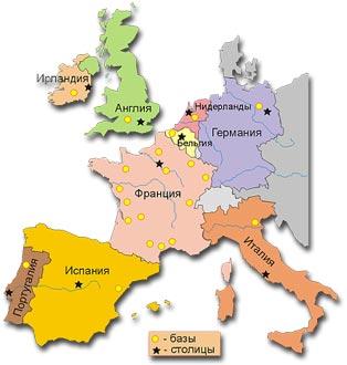 Популярность регионов и необходимый